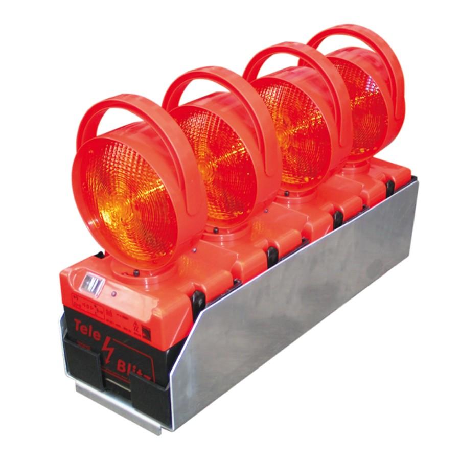 Lade- und Transportbox für 4 Tele-Blitz ( hintereinander)