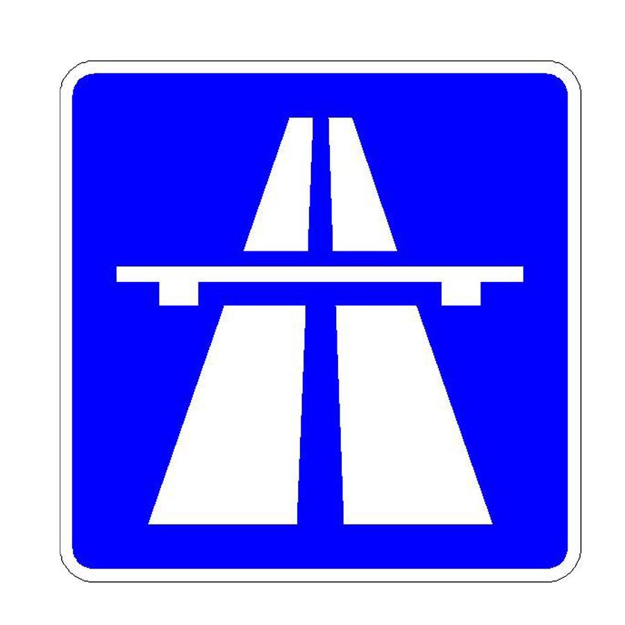 Verkehrszeichen (330) - StVO Autobahn