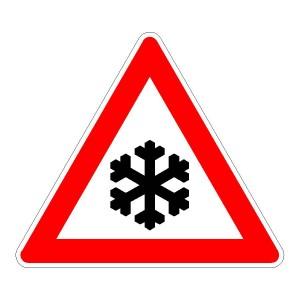 Verkehrszeichen (113) - StVO Schnee- oder Eisglätte
