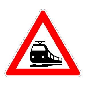 Verkehrszeichen (151) - StVO Unbeschrankter Bahnübergang