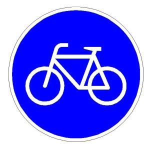 Verkehrszeichen (237) -  StVO Sonderweg Radfahrer