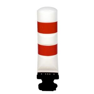 Leitboy-Poller L120 rot/weiß