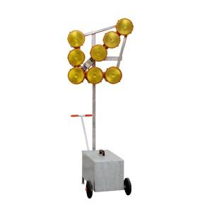 Fahrbarer Leuchtpfeil - HLP 8