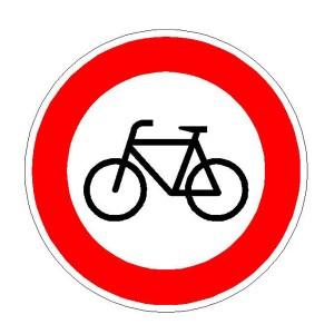 Verkehrszeichen (254) -  StVO Verbot für Radfahrer
