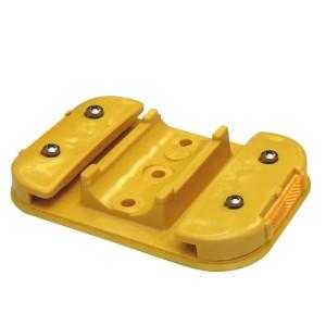 Leitboy-Fuß L49 gelb
