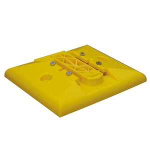 Leitboy-Fuß L50 gelb