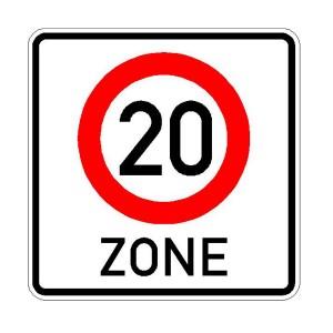 Verkehrszeichen (274.1-51) -  StVO Beginn der Zone mit zulässiger Höchstgeschwindigkeit