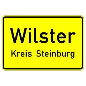Verkehrszeichen (310) - StVO Ortstafel (Vorderseite)