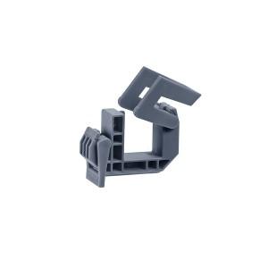 Klemmschelle Typ D,  für Alform -1- graue  Ausführung