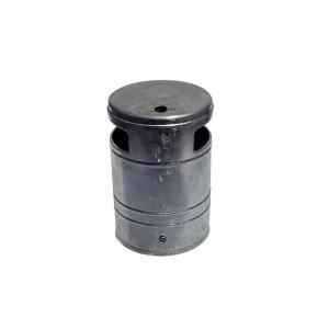 Abfallbehälter ca. 40 L mit Ascher Produktbeispiel