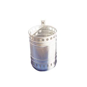 Abfallbehälter ca. 35 L feuerverzinkt Produktbeispiel
