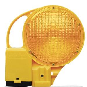 Baken- und Warnleuchte BakoLight LED zweiseitig gelb, mit Halter 2. Wahl