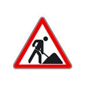 Verkehrszeichen (123) - StVO Baustelle