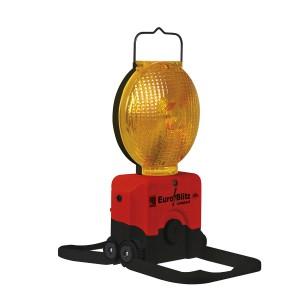 LED Warnleuchte Euro-Blitz Compact geöfnete Standfüße
