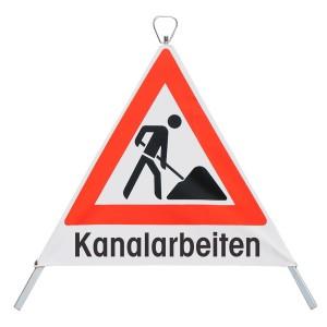 "Faltsignal"" Bauarbeiter"""