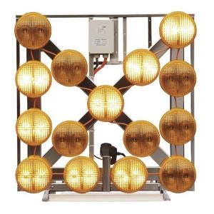 Kleiner LED-Blinkpfeil LP 15/S L8H NiBus, 12/24 V