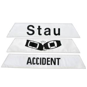 Klettbänder Faltsignal Produktbeispiele
