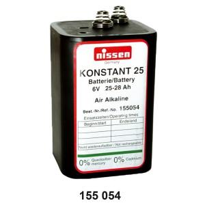 Batterie Konstant 25, 6 V, 25-28 Ah