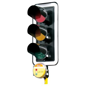 Kontrastblende für LZA500 LED Lichtsignalanlage