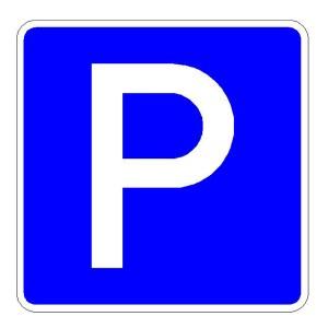Verkehrszeichen (314-50) - StVO Parkplatz
