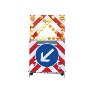 Fahrbare Absperrtafel Typ A31/L ab Lager verfügbar