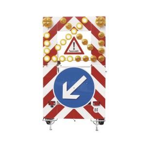 Fahrbare Absperrtafel VSA-Feuerwehr