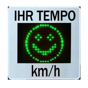 Sierzega Geschwindigkeitsanzeige GR33L