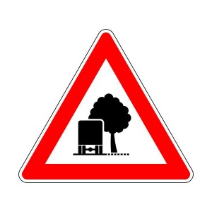 Verkehrszeichen (101-54) - StVO unzureichendes Lichtraumprofil