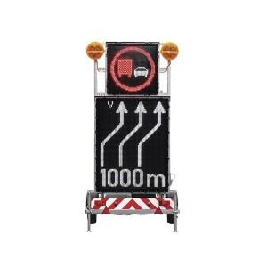 Mobile Vornwarntafel VLT LED Frontansicht