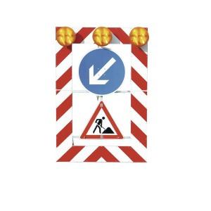 Warntafel Typ B mit Zeichen 615