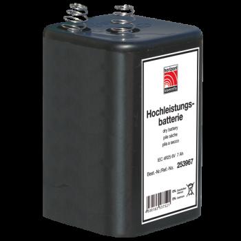 Blockbatterie IEC 4 R 25 6 V- / 9 Ah
