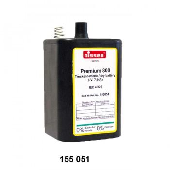 Trockenbatterie Premium 800, 6 V, 7 - 9 Ah