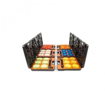 MegaFlare ™ LED Sicherheits Beacon Koffer mit 6 LED Warnleuchten